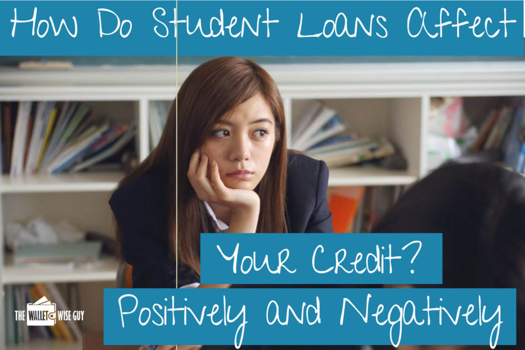 Do student loans affect your credit?