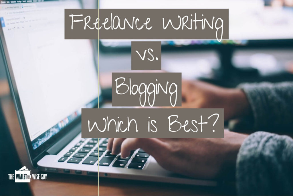Freelance writing vs. blogging